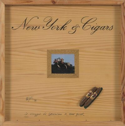 Fabio De Poli, 'New York & Cigars', 1974