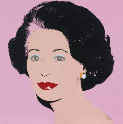 Andy Warhol, 'Gaetana Enders (The ambassadress)', 1983
