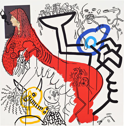 Keith Haring, 'Apocalypse (Plate 4)', 1988