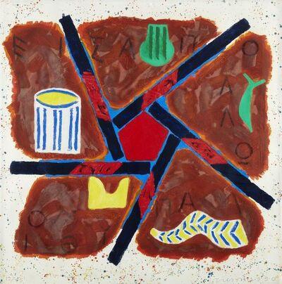 Joe Tilson, 'Apollo Pythion', 1990