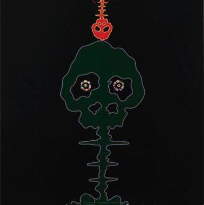 Takashi Murakami, 'Time Bokan - Black + Moss Green', 2006