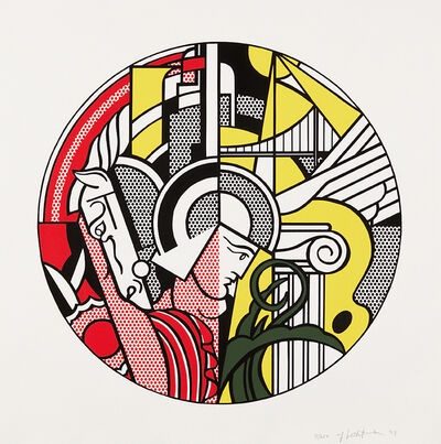 Roy Lichtenstein, 'The Solomon R. Guggenheim Museum Poster', 1969