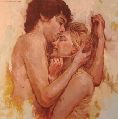 "Joseph Lorusso, '""Snuggling""', 2020"