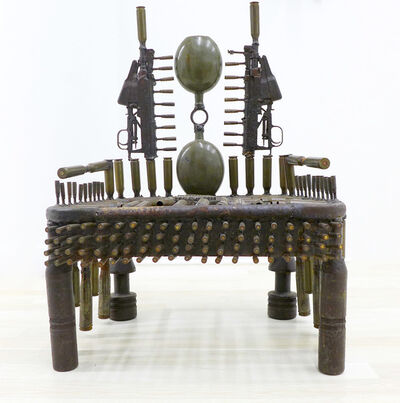 Gonçalo Mabunda, 'War Throne ', 2014