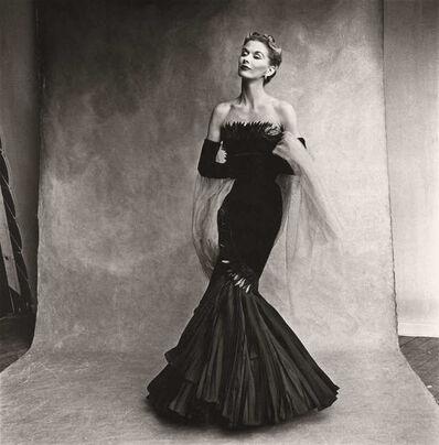 Irving Penn, 'Mermaid dress (Lisa Fonssagrives-Penn), Paris', 1950
