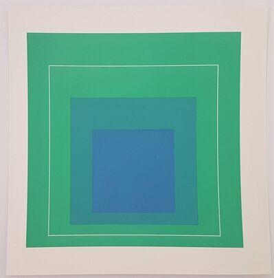 Josef Albers, 'White Lines Squares', 1966