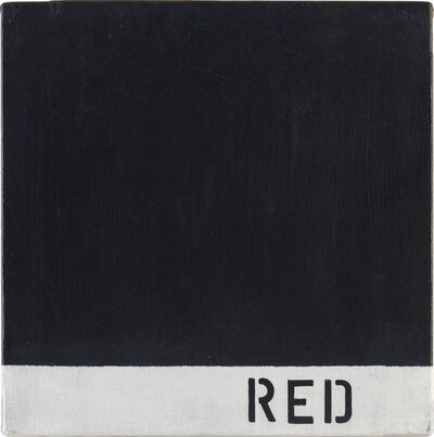 Radomir Damnjonoviæ-Damnjan, 'Misinformation - Red', 1972 -2012