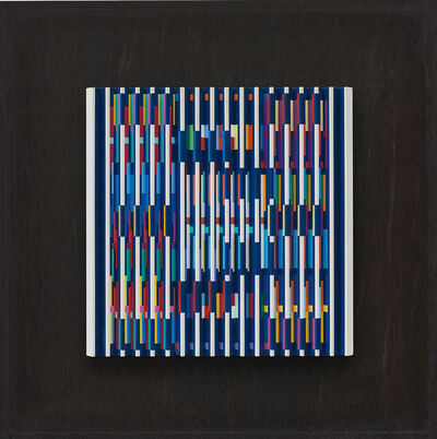 Yaacov Agam, 'Small E/A ND', 1989