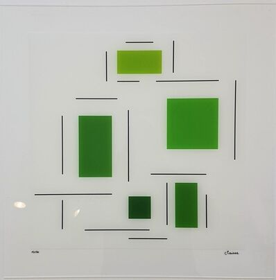 Geneviève Claisse, 'Untitled (Green)', 2016