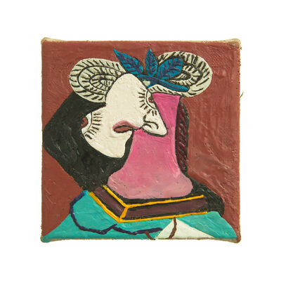 Chambliss Giobbi, 'Straw Votive (after Picasso)', 2019