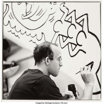 Wouter Deruytter, 'Keith Haring, Knokke, Belgium', 1989