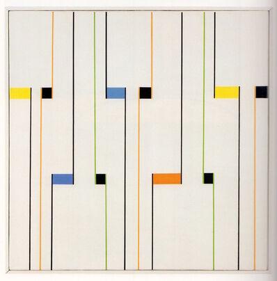 Alfredo Hlito, 'Ritmos cromaticos', 1947