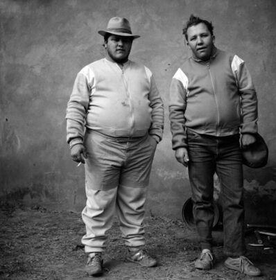 Roger Ballen, 'Johan and Bertie, Brothers, Western Transvaal', 1987