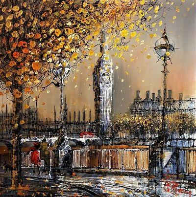 Nigel Cooke (b.1960), 'London Sunrise', 2020