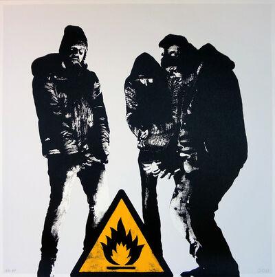 DOT DOT DOT, 'Bumfire (White)', 2014