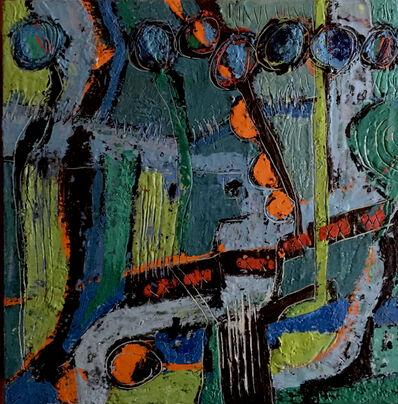 Lola Baltzell, 'Saliere Orange (1)', 2020