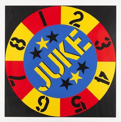 Robert Indiana, 'The American Dream No. 2 - Juke', 1982