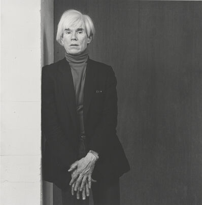 Robert Mapplethorpe, 'Andy Warhol', 1983