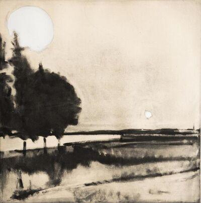Elizabeth Higgins, 'Sun and Moon monotype', 2018