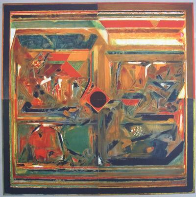 S. H. Raza, 'Symboles 4', 2007