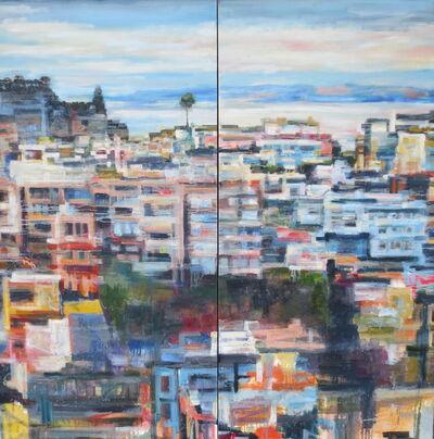 Kim Ford Kitz, 'Misty Cliffs (Diptych)', 2016
