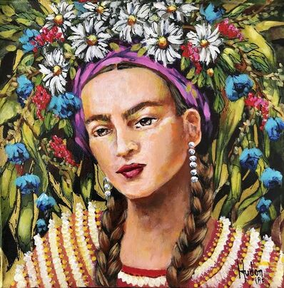 Jean Jacques Hudon, 'Frida in the Garden II', 2018