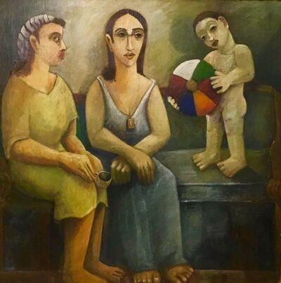 Guirguis Lotfy, 'Kare'at Al Fengan {قارئة الفنجان}', 2000
