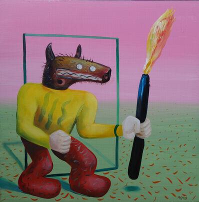 Miguel Cardenas, 'Figura con Fuego (Figure with Fire)', 2019