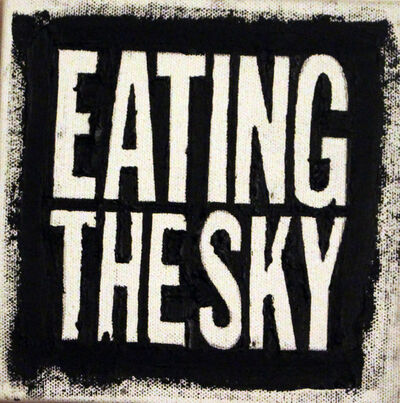 John Giorno, 'EATING THE SKY', 2009