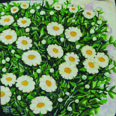 Yi Yunzu, 'untitled-daisy', 2015