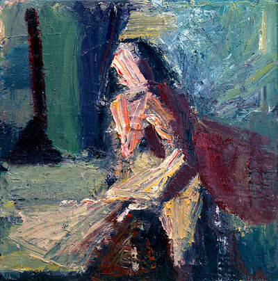 Terry St. John, 'Woman in Studio', 2013
