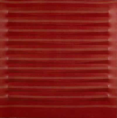 Agostino Bonalumi, 'Rosso', 1977