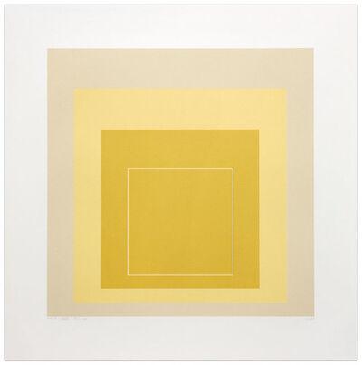 Josef Albers, 'White Line Square XVII', 1967