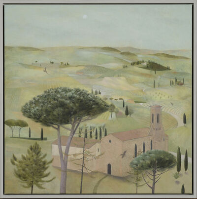 Tom Mabon, 'The Sound of Bells. San Gimignano ', 2020