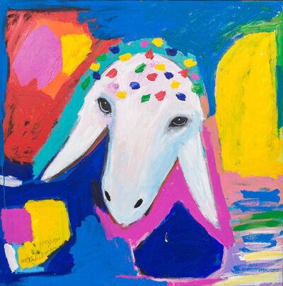 """Menashe Kadishman, 'Untitled """"Sheep's Head""""', ca. 2008"""