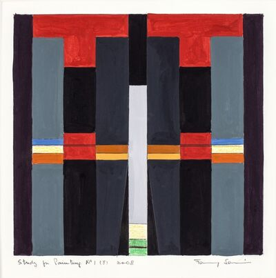 Fanny Sanin, 'Study for painting N.° 1 (8)', 2008