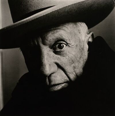 Irving Penn, 'Picasso (B) (2 of 6), Cannes, France, 1957', 1957
