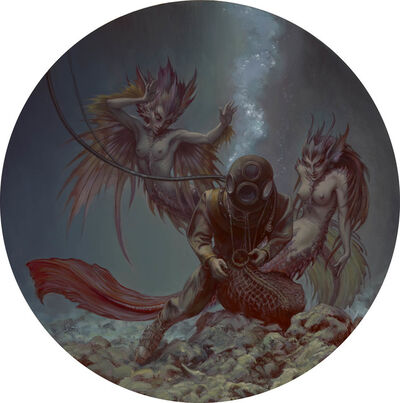 Stephen Hickman, 'Rapture of the Deep'