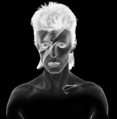 Brian Duffy, 'Aladdin Sane Remastered, B&W Negative', 1973