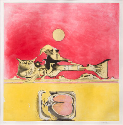 Graham Sutherland, 'Form in a Desert (Variant)', 1974