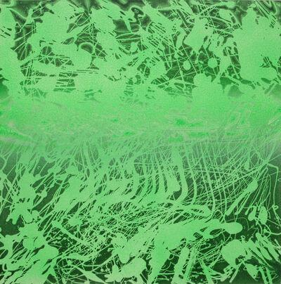 Xiao Bo, 'Sketches 2017 – Green 18', 2017