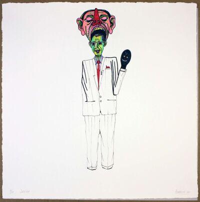 Luis Cruz Azaceta, 'The Dealer', 2011