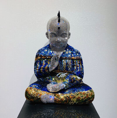 Metis Atash, 'Punk Buddha Starry Night II feat. Van Gogh', ca. 2018