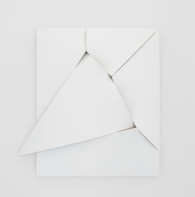 Jan Maarten Voskuil, 'Similar Painting Different Object (White Unlimitation #4)', 2019