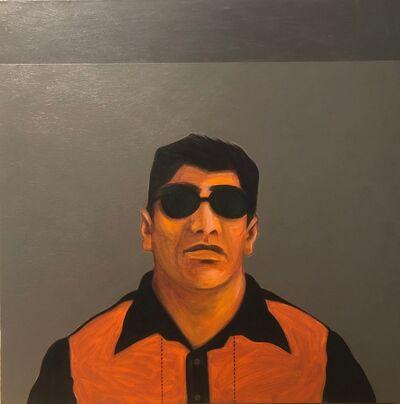 César A. Martínez, 'Bato Con Orange Shirt', 2015