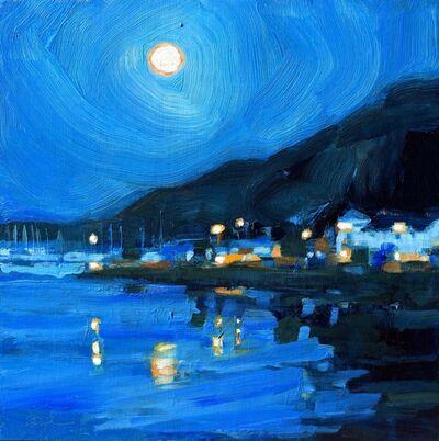 Kanna Aoki, 'Night Harbor', 2019