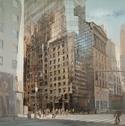 Patrick Pietropoli, '48th St and 5th Ave, NYC (silver)'