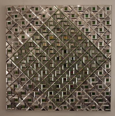 Monir Farmanfarmaian, 'Geometry of Hope', 1976