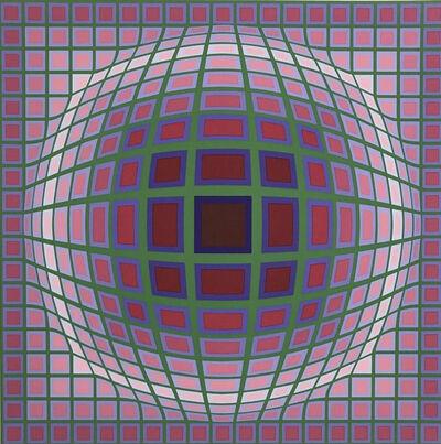 Victor Vasarely, 'Titan, A.', 1985