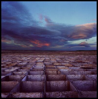Jan Staller, 'Field of Boxes', Neg. date: 2001